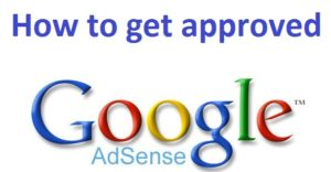 approved google adsense